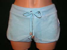 NEW Aeropostale Junior Girls Blue Terry Cover-up Shorts S Small
