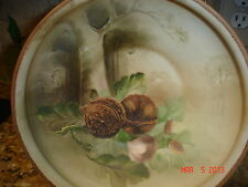 c1910 ESTATE ANTIQUE NIPPON MORIMURA FOOTED BOWL LANDSCAPE HAND PAINTING MORIAGE