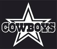 NFL Dallas Cowboys Car or Truck Window Vinyl Sticker