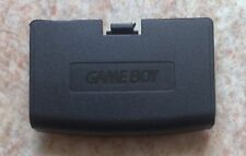 NEW Black Replacement Battery Cover for Game Boy Advance - Gameboy GBA