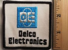 DELCO ELECTRONICS PATCH (CAR, RACING)