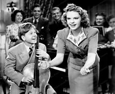 8x10 Print Judy Garland Mickey Rooney Babes In Arms 1939 #2646