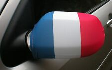 CAR WING MIRROR FLAGS, COVERS, FLAG-UPS! - FRANCE (FRENCH) TRICOLOUR