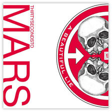 """30 seconds to Mars A Beautiful Lie sticker decal 4"""" x 4"""""""