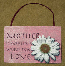 Mother Is Another Word For Love ~ Mother's Day Tapestry Bannerette Wall Hanging