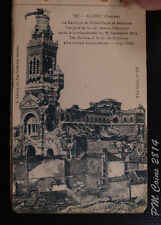 18x French WWI Scene postcards book, Albert after bombardment, unused [lot2814]