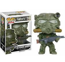 "EXCLUSIVE FALLOUT 4 - GREEN T-60 POWER ARMOR  3.75"" POP VINYL FIGURE FUNKO"