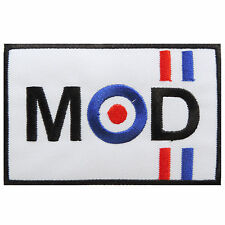 Mod Roundel Target Military Aircraft Biker Scooter Vespa Iron-On Patches #P035