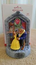 Hallmark 2016 Disney Beauty and the Beast 25th Anniversary Christmas Ornament