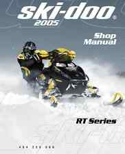 2005 Ski-Doo RT series Mach Z Summit Highmark snowmobile service manual binder