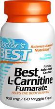 Best L-Carnitine Fumarate Sigma Tau Carnitine, 60 veggie caps, Doctor's Best