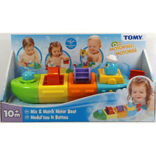 Tomy Bath Toy Mix and Match Motor Boat Genuine UK CE Safety Mark 12 Months+ NEW