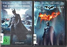 The Dark Knight Rises Batman + The Dark Knight Sammlung DVD Filme