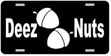 Deez Nuts License Plate Car Tag Vanity Plate