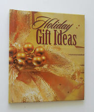 """Holiday Gift Ideas"" Hardcover Book With Bible Scriptures & Gift Dedication Page"