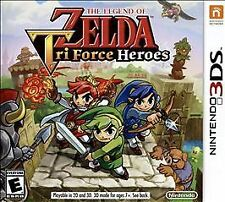 The Legend of Zelda Triforce Heroes Tri Force Nintendo 3DS Game w/Case & Insert