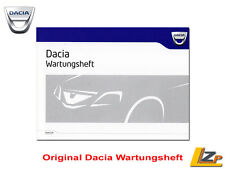 Original Wartungsheft Dacia Duster / Sandero / Logan / Dokker NEU/OVP