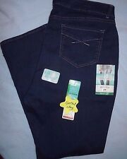 NEW LEE Riders SLIMMING STRETCH 20W Plus Mid-Rise Boot Cut Jeans Heavenly Touch