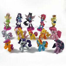 "My Little Pony Equestria Girls 6.5cm/2.5"" PVC Figure 5pcs+9pcs little pony"