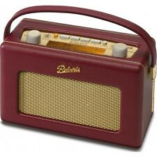 Roberts Revival RD60 Burgundy Radio Portable DAB FM RDS Digital Retro Radio
