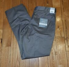 NWT Mens PERRY ELLIS Portfolio Sand Premium Flex Twill Dress Pants Slacks 36X32