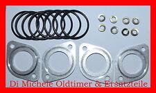 2x 45 DCOE Weber Doppelvergaser Schwingungsdämpfer Alu (mount kit for 45 DCOE)