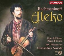 Rachmaninoff # Aleko BBC Philharmonic Gianandrea Noseda (Chandos) CD