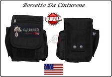 Borsetto Multiuso per Cinturone Cordura MHF Nero Blak Carabinieri CC