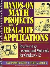 J-B Ed Hands-On Math Projects with Real-Life Applications 364 Pg Book