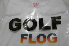 Golf Wang Flog Gradient T Shirt XL White BRAND NEW DS Authentic Odd Future