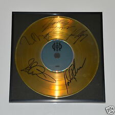 Dream Theater CD + Deko goldene Schallplatte + 5 Autogramme/ Autograph in Person