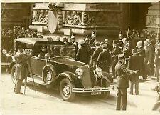 """""""Paul DOUMER : SALON DE L'AUTOMOBILE 1931"""" Photo originale G. DEVRED (Agce ROL)"""