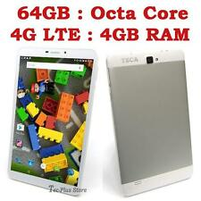 "US STOCK: TECA LTE840 4G OCTA CORE 4GB-RAM 64GB 8"" FHD ANDROID 5.1 SMARTPHONE"
