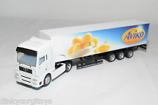 MAN M.A.N. TGA TRUCK WITH TRAILER AVIKO WHITE EXCELLENT CONDITION