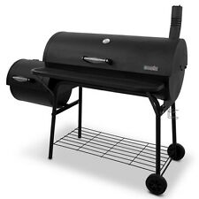 Large Charcoal Grill Outdoor Barbecue Smoker Portable Offset BBQ Hunter Grilling