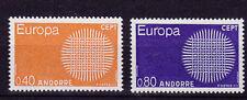 v234 Andorra frz./ CEPT 1970  MiNr 222/23 **