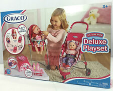GRACO - 4-IN-1 - Deluxe Swing High Chair Playset ** PURCHASE TODAY **