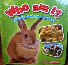 Who Am I? Animal Farm and Who Am I? Animals Around Me touch and feel set new