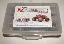 TRAXXAS  MINI SUMMIT 1/16TH RC SCREWZ SCREW SET STAINLESS STEEL TRA042