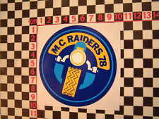 MC Raiders 1978 Sticker for Chopper Custom Featherbed Hardtail Harley Davidson