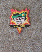 VIETNAM WAR PATCH-SHELL BURST PHU CAT - US SPECIAL FORCES
