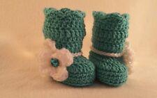 NEW Newborn Baby Girl Boot Booties  Crochet Infant photo Prop Gift
