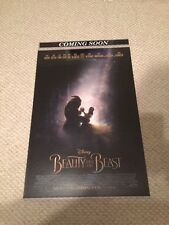 BEAUTY AND THE BEAST 2017 Original D/S -  27x40 MOVIE POSTER
