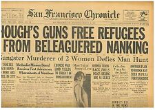 Guns Free Refugees From Nanking Missionary Slain March 28 1927 SF Chronicle B11