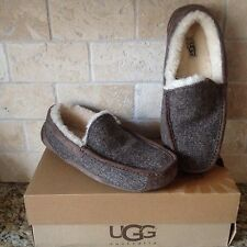 UGG ASCOT TWEED STOUT SHEEPSKIN SLIPPERS MOCCASIN SHOES US 13 MENS 1005347