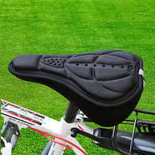 Soft Saddle Pad Cushion Cover Gel Silicone Seat for Mountain Bike Bicycle New