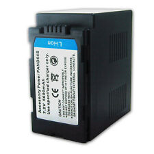 6000mAh Battery for Panasonic AG-DVX100 AG-DVX100B AG-DVC15 CGR-D54