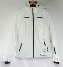 Spyder Women's Tresh Snow Ski Winter Jacket White Black Size Ladies 12 NEW