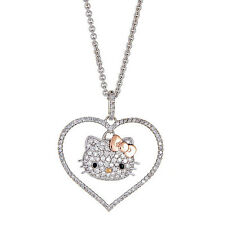 Kimora Lee Simmons Hello Kitty Diamond Necklace in 18kt Gold