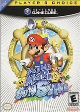 Super Mario: Sunshine (Nintendo GameCube, 2003) sun shine game cube